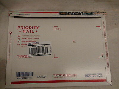 (10) Prepaid Priority Mail Flat Rate Envelope $67 Face Value