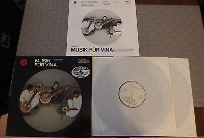 V. A. - Musik für Vina Süd-Indien Museum Collection Berlin (West) 2LP NM Condit