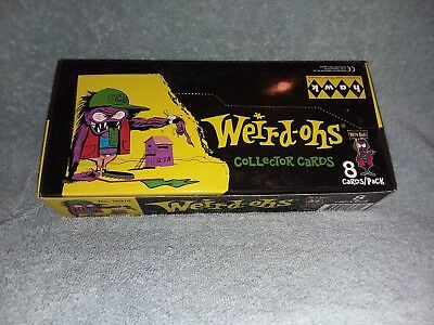 """""""Weird-Ohs"""" Trading Cards Box - 24 sealed packs per Box #2"""