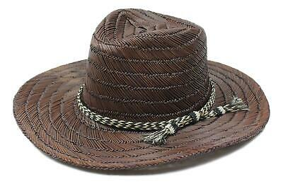 BRIXTON UNISEX BELLS Fedora Brown Straw Size One Size New -  44.99 ... de8959d34e7