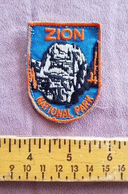 Zion National Park Collectible Patch