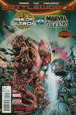 Age of Ultron vs. Marvel Zombies #2 in Near Mint condition. Marvel comics