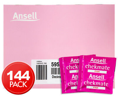 Ansell Chekmate Lubricated Condoms 144pk
