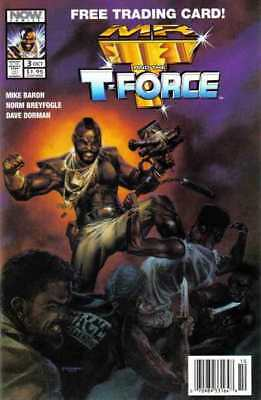 Mr. T and the T-Force #3 in Near Mint condition. Now comics