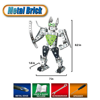 235 PCS STEM Toys Funny Building Blocks Robot Man For Age 3+ Year Old Kids