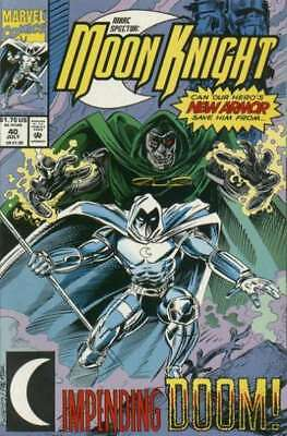Marc Spector: Moon Knight #40 in Near Mint condition. Marvel comics