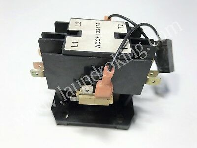 132475  Adc 24V 2-Pole Contactor,  Replaced By 132498 (Used)