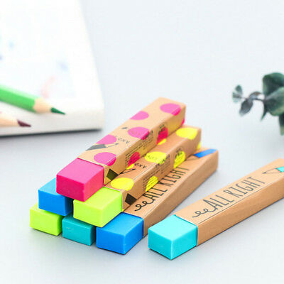 Kawaii 2B Pencil Rubber Eraser Student Gift Soft Eraser School Supply Stationery