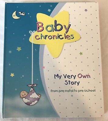 Baby Chronicle My Very Own Story Pre-Natal to Pre-School Memory Binder Baby Book