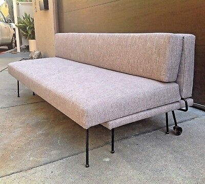 Incredible Rare Iron Adrian Pearsall 600 Ds Sofa Bed Craft Associates Dailytribune Chair Design For Home Dailytribuneorg