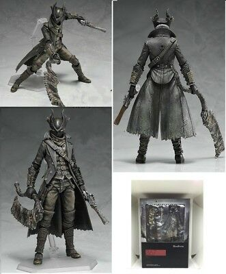 NEW Figma 367 Bloodborne Hunter Action Figure 1/6 Model Toy Gift 15cm No Box