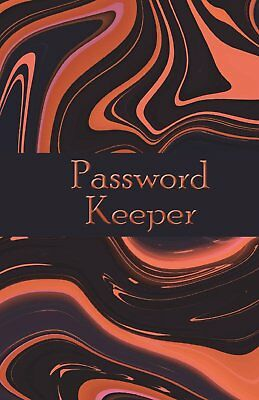 password keeper: Size 5.5x8.5 inch 120 pages 3 entries per page. Password Organi
