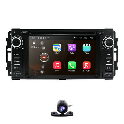 Android 9.0 Car DVD player GPS radio Stereo for Jeep Wrangler Compass 2007-2013~