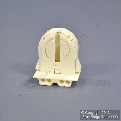 Leviton Fluorescent Lamp Holder Light SocketT-8 T8 Low Profile Bi-Pin 13652-WNP
