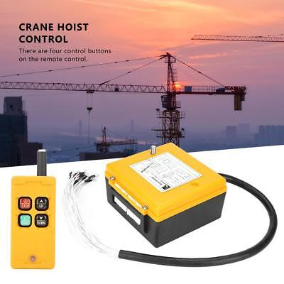 Crane Chain Hoist Push Button Switch Lifting Remote Controller Fine
