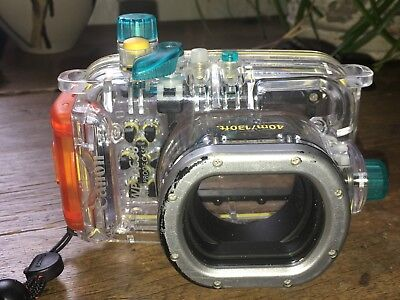Canon WP-DC38 waterproof housing for Canon S95 compact in fine condition