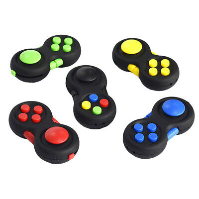 Fidget Hand Shank Pad Spinner Autism Anixety Stress Relieves Toy For Kids/Adults