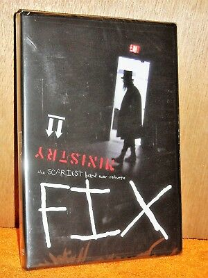 Fix: The Ministry Movie (DVD/CD, 2012) Al Jourgensen Paul Barker Trent Reznor