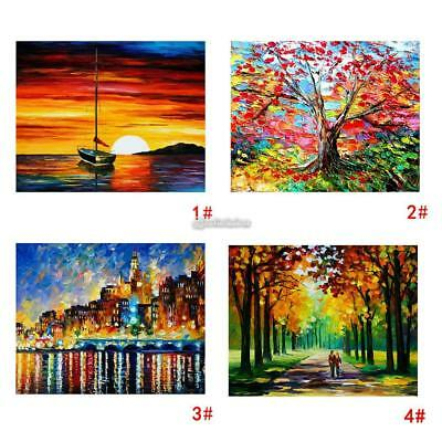 Modern Large Hand-painted Art Oil Painting Abstract Wall Decor Canvas (No Frame)