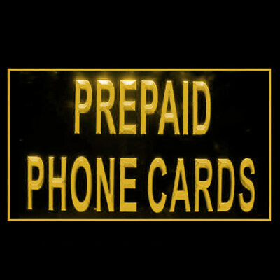 190149 Prepaid Phone Cards Long-Distance Cheap Display LED Light Sign