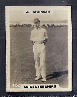 Pinnace Cricket (Kf198)-#115- Leicestershire - Shipman