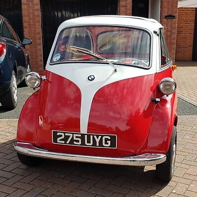 1961 Bmw Isetta Bubble Car Genuine German Four Wheels Immaculate Two Tone Paint