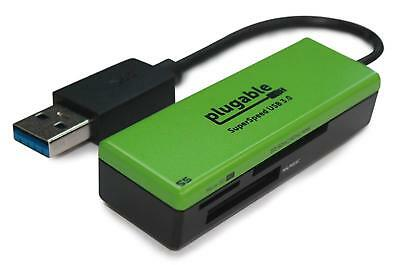 Plugable SuperSpeed USB 3.0 Flash Memory Card Reader