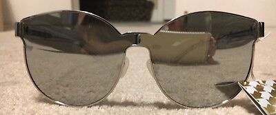 c6ecc658a2ab NWT! Karen Walker STAR SAILOR Women s Sunglasses Silver Lens With Clear  Frame