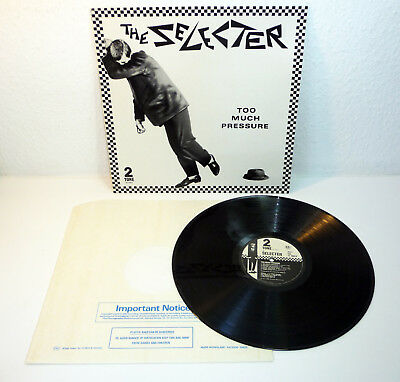 "THE SELECTER ""Too Much Pressure"" UK M- original 1980 Two-Tone SKA Revival LP"