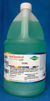SUN CHEMICAL Rycoline  CCRC CERAMIC OR CHROME ROLLER WASH 1 GALLON