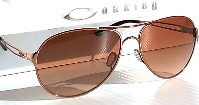 b4a6ba435e NEW  Oakley CAVEAT Rose Gold 60mm Aviator w brown lens Women s Sunglass  4054-01