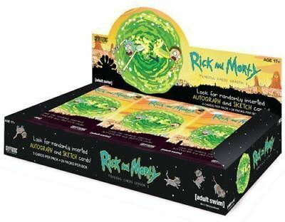 2018 Cryptozoic Rick And Morty Season 1 Factory Sealed Box