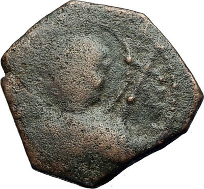 CRUSADERS of Antioch Tancred Ancient 1101AD Byzantine Time Coin St Peter i71222
