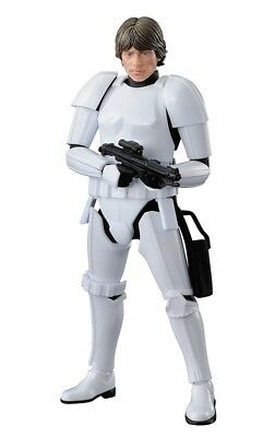 BAN225755: Bandai Hobby Star Wars 1/12 Model Kit Luke Skywalker Stormtrooper
