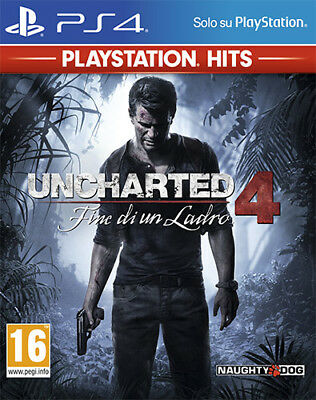 Uncharted 4 Fine Di Un Ladro PS Playstation Hits PS4 Playstation 4