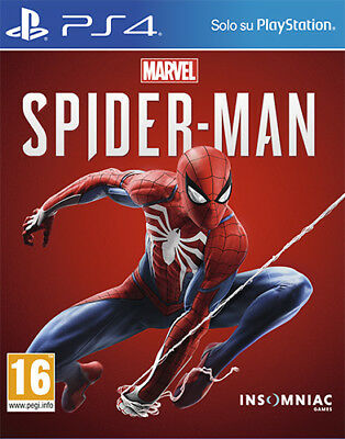 Marvel's Spider-Man PS4 Playstation 4 SONY COMPUTER ENTERTAINMENT