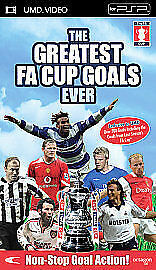 The Greatest FA Cup Goals Ever [UMD Mini for PSP], Good DVD, ,