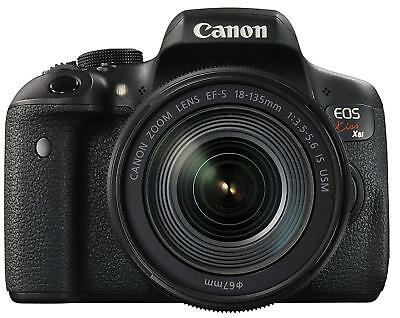 Canon DSLR Digital Camera EOS Kiss X8i Lens Kit EF-S18-135mm F3.5-5.6 IS USM EMS