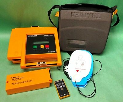 Medtronic LifePak 500T Trainer AED Training System