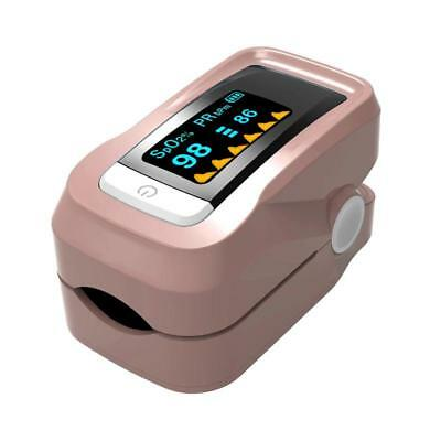 Fingertip Pulse Oximeter Oximeter, Blood Oxygen Saturation Monitor with Carrying