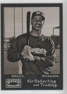 2009 Topps Heritage Mayo #TME-RB Ryan Braun Milwaukee Brewers Baseball Card
