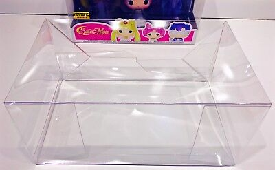 1 Box Protector For FUNKO SAILOR MOON / WRINKLE IN TIME 3 Packs! Display case