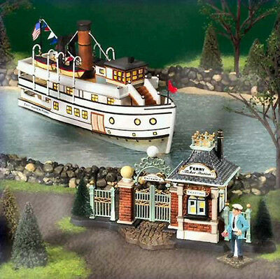 """Department 56 Christmas In The City """"East Harbor Ferry"""" #59213 Limited Edition"""