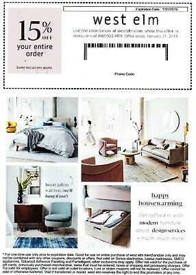 west elm coupon code 15