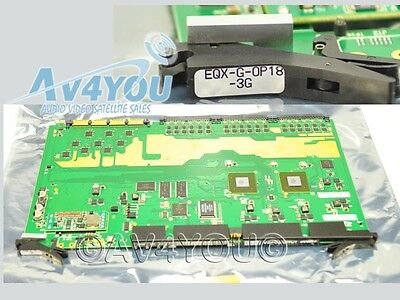 NEW EVERTZ EQX-G-OP18-3G Video Router EQX HD 3g Output Green Board, low voltage