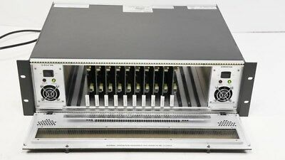 Evertz 7700FR-C w/ (10) 7700ADA7 Analog Video Distribution Amplifier 1x7 DA -2PS