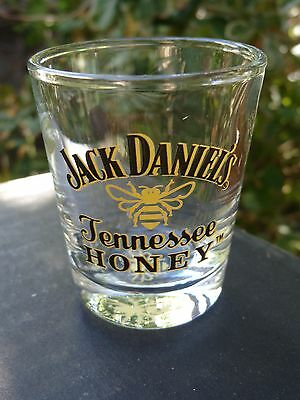 Liquor Shot Glass <^> Jack Daniel's Tennessee Honey Blended Whiskey <^> EST 1866