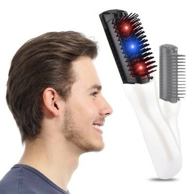 Portable Infrared Laser Treatment Power Grow Comb Stop Hair Loss Regrow Therapy