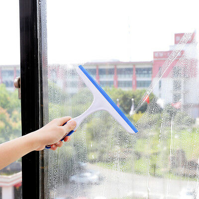 Window Squeegee Hand Held Car Glass Cleaning Wiper Blade Cleaner Home Bathroom