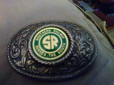 Southern Railway Belt And Buckle